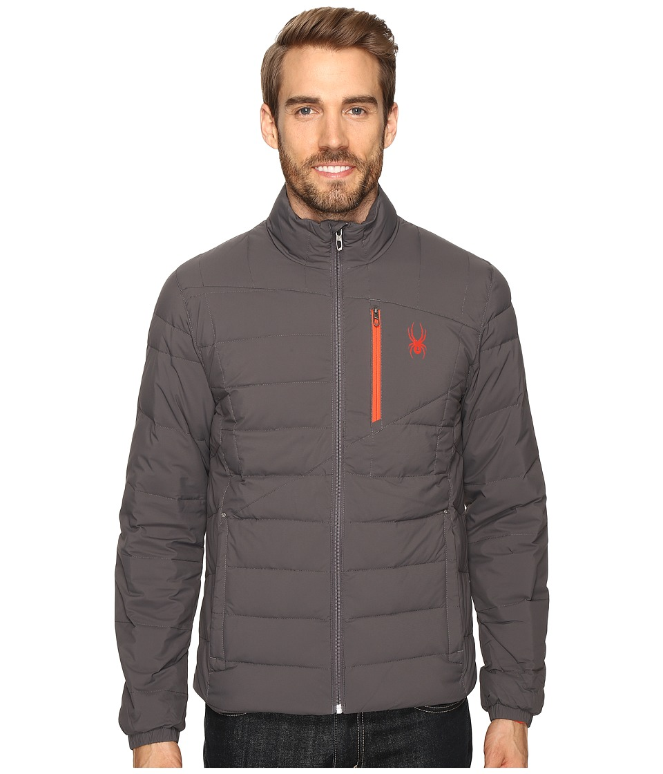 Spyder - Dolomite Full Zip Down Jacket (Polar/Rage) Men's Jacket