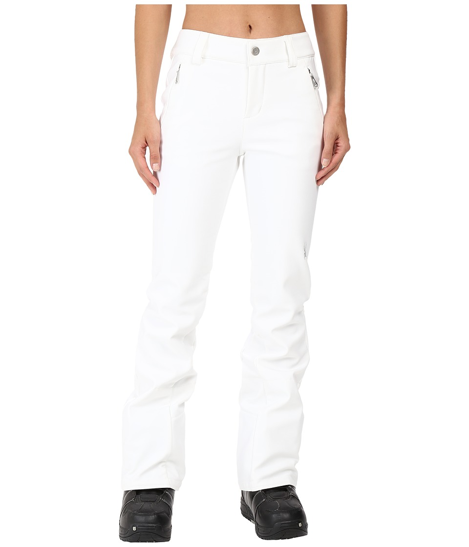 Spyder - Orb Soft Shell Pant (White) Women's Outerwear