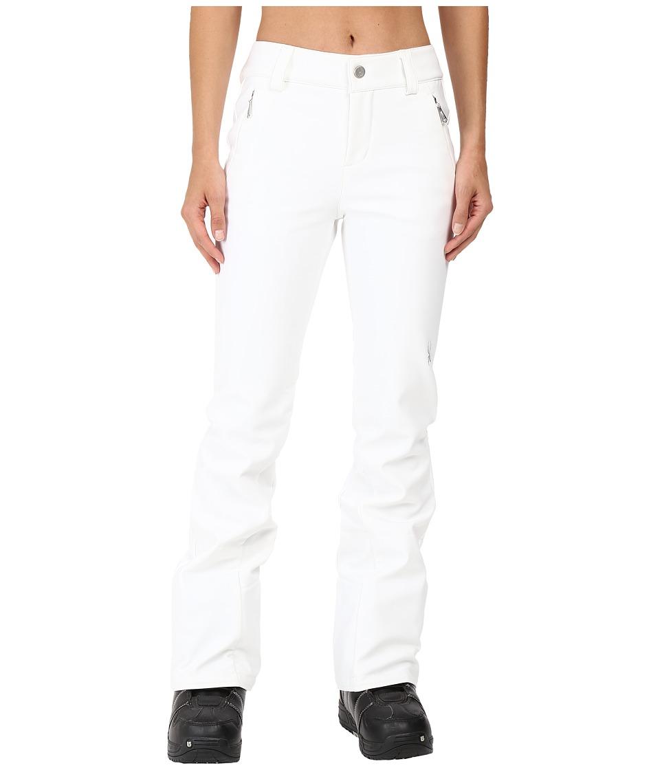 Spyder Orb Soft Shell Pant (White) Women