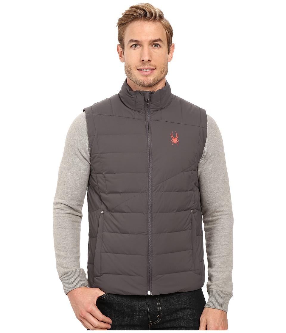 Spyder - Dolomite Down Vest (Polar/Rage) Men's Vest
