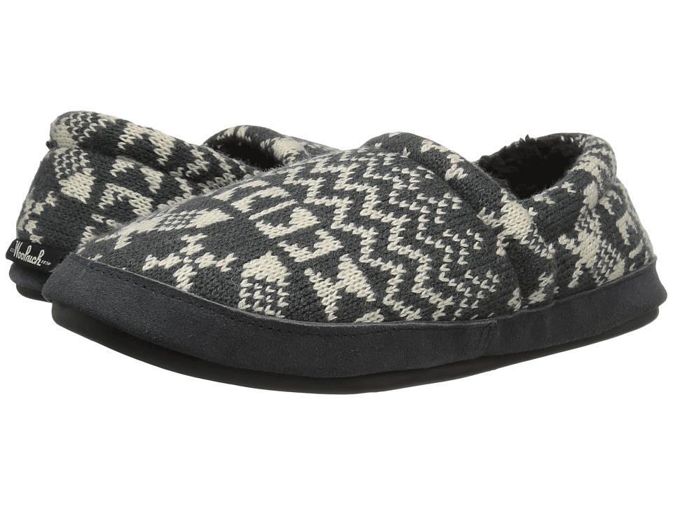 Woolrich Whitecap Knit (Charcoal Snowshoe Sweater) Women