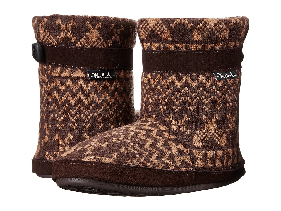 Woolrich Whitecap Knit Boot (Java Snowshoe Sweater) Women