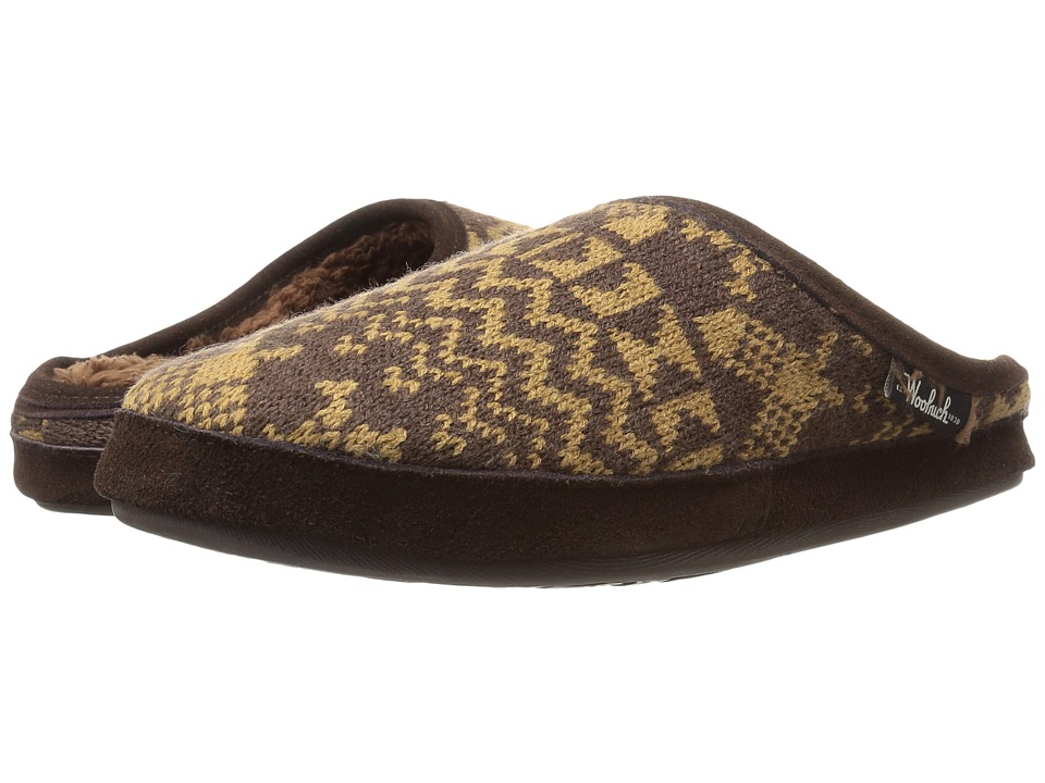 Woolrich - Whitecap Knit Mule (Java Snowshoe Sweater) Women's Slippers