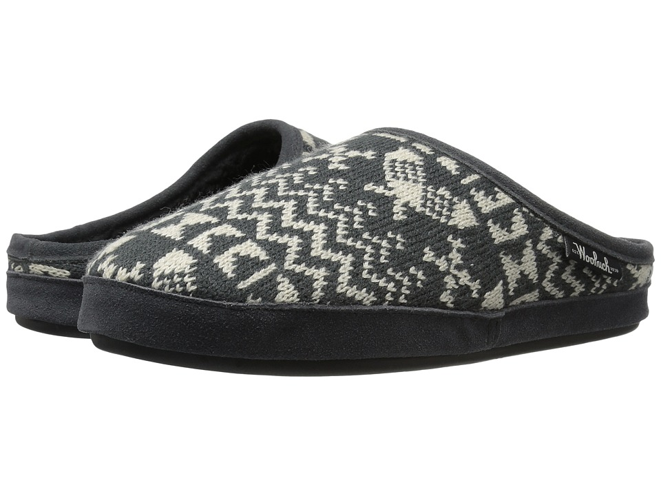 Woolrich Whitecap Knit Mule (Charcoal Snowshoe Sweater) Women