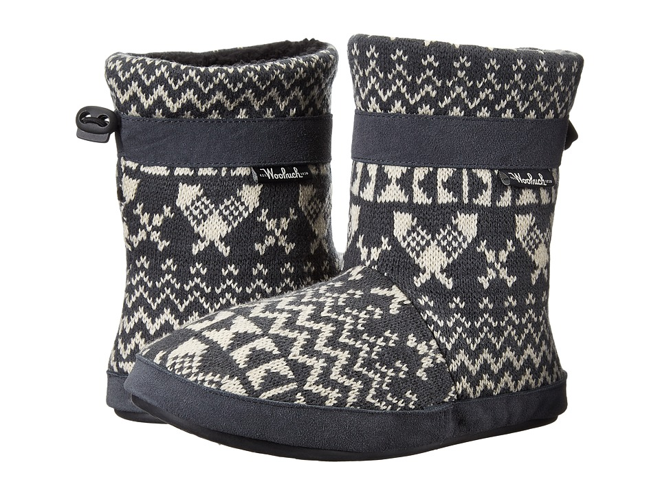 Woolrich - Whitecap Knit Boot (Charcoal Snowshoe Sweater) Women's Boots