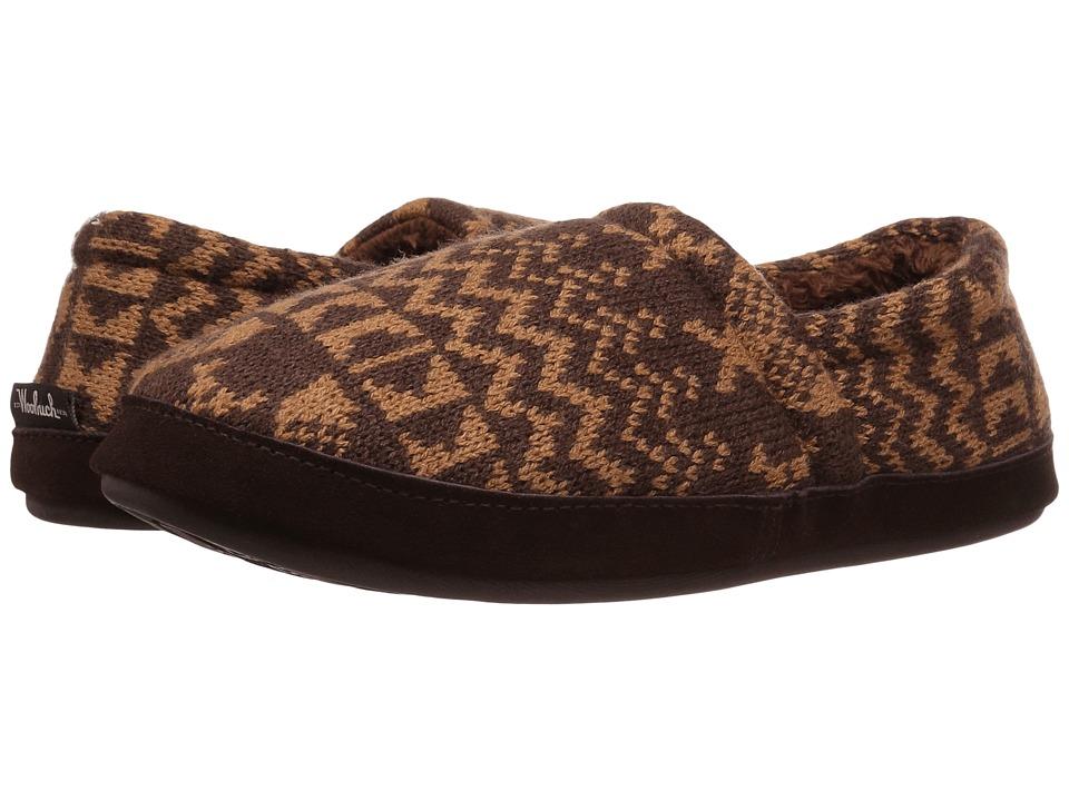 Woolrich - Whitecap Knit (Java Snowshoe Sweater) Women's Slippers