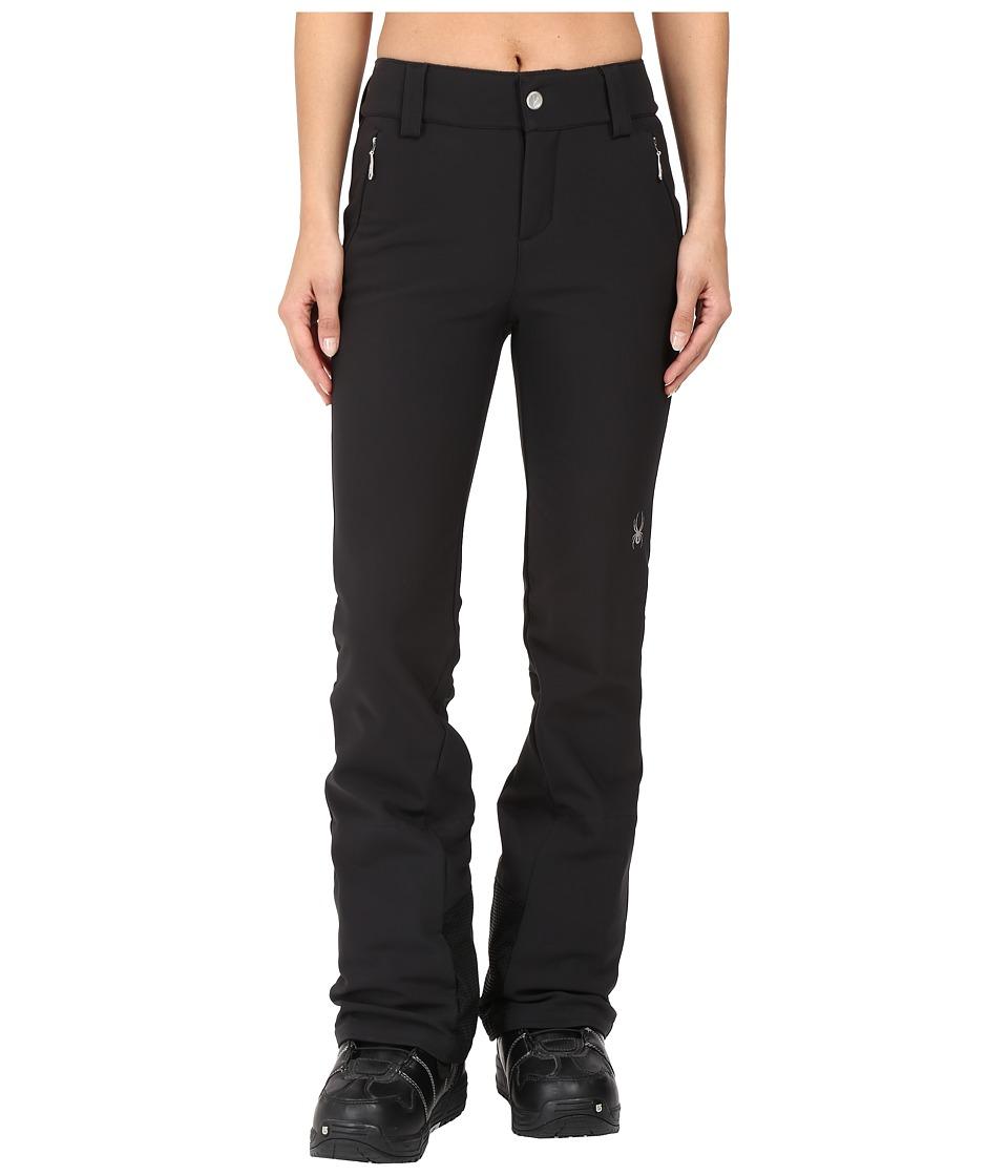 Spyder - Orb Soft Shell Pant (Black 1) Women's Outerwear