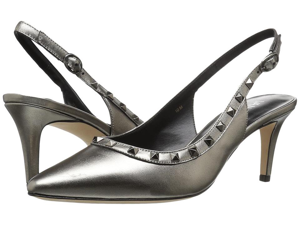 Vaneli - Harriet (Pewter Pearl Nappa/Gunmetal Trim) High Heels