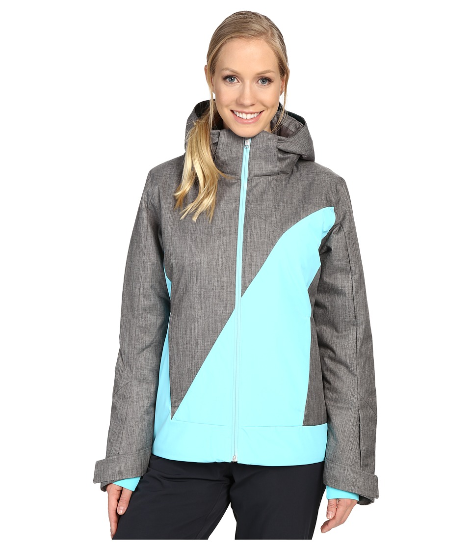 Spyder - Amp Jacket (Weld Crosshatch/Freeze/Freeze) Women's Coat