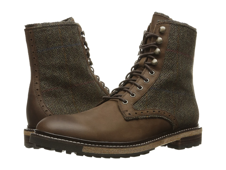 Woolrich - Bootlegger (Bitter Chocolate/Tweed Wool) Men's Boots