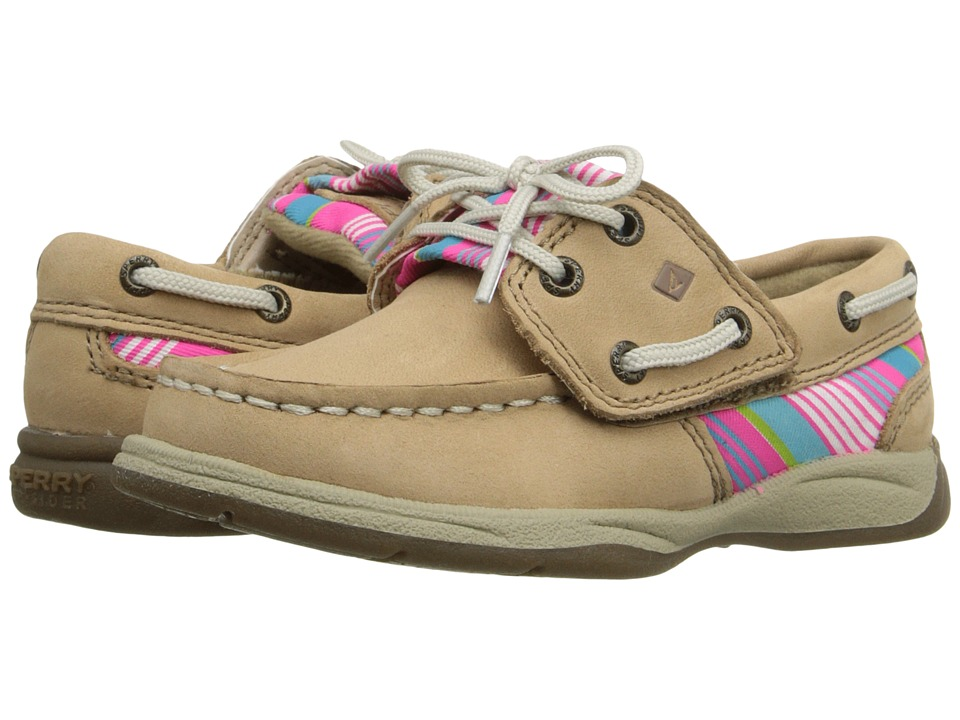 Sperry Top-Sider Kids - Intrepid Jr. (Toddler/Little Kid) (Multi Stripe) Girl