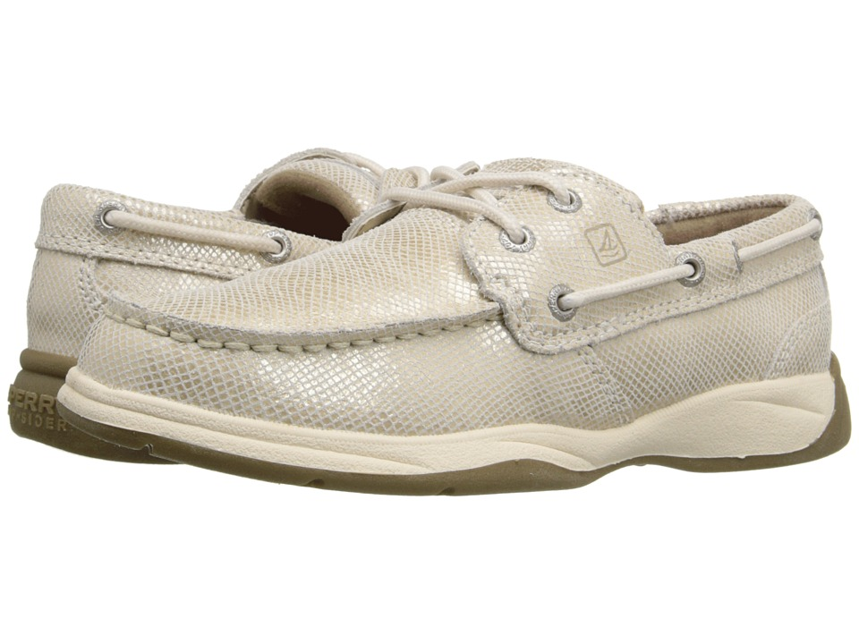 Sperry Top-Sider Kids - Intrepid (Little Kid/Big Kid) (Sand Shimmer) Girl
