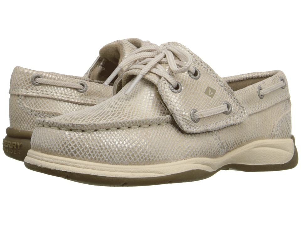 Sperry Top-Sider Kids - Intrepid Jr. (Toddler/Little Kid) (Sand Shimmer) Girl