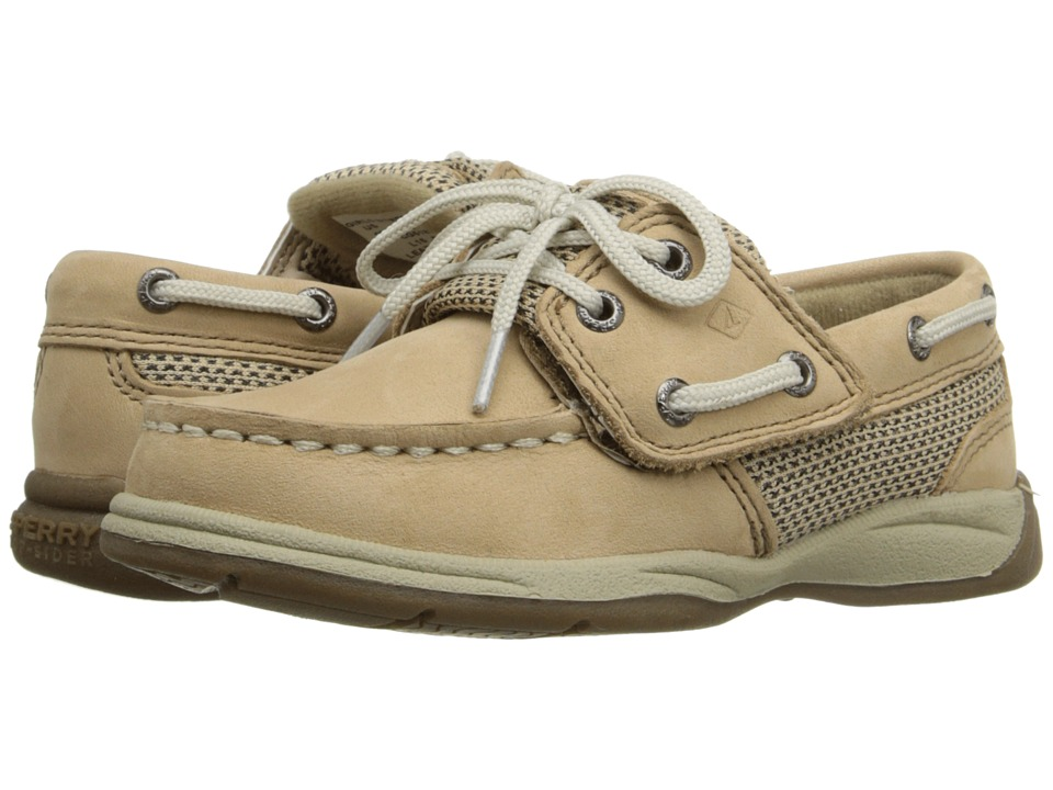 Sperry Top-Sider Kids - Intrepid Jr. (Toddler/Little Kid) (Linen/Oat) Girl
