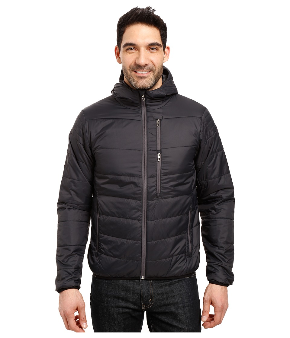 Spyder - Mandate Hoodie Sweater Weight Insulator Jacket (Black/Polar) Men's Coat