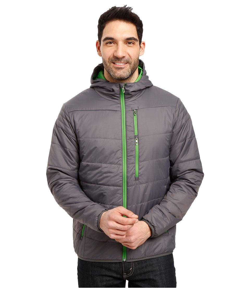 Spyder - Mandate Hoodie Sweater Weight Insulator Jacket (Polar/Blade) Men's Coat