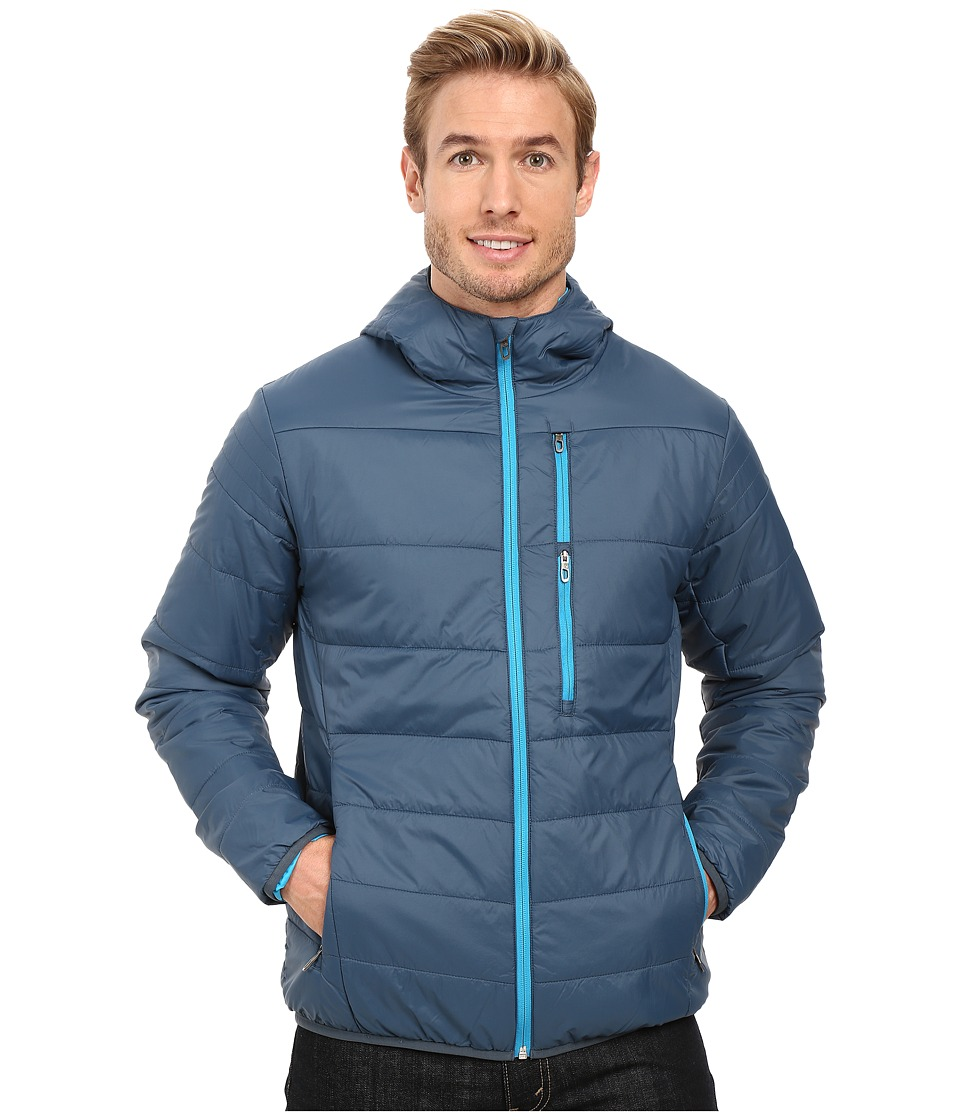 Spyder Mandate Hoodie Sweater Weight Insulator Jacket (Union Blue/Electric Blue) Men