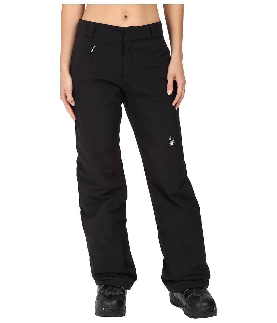 Spyder - Winner Athletic Fit Pants (Black) Women's Outerwear