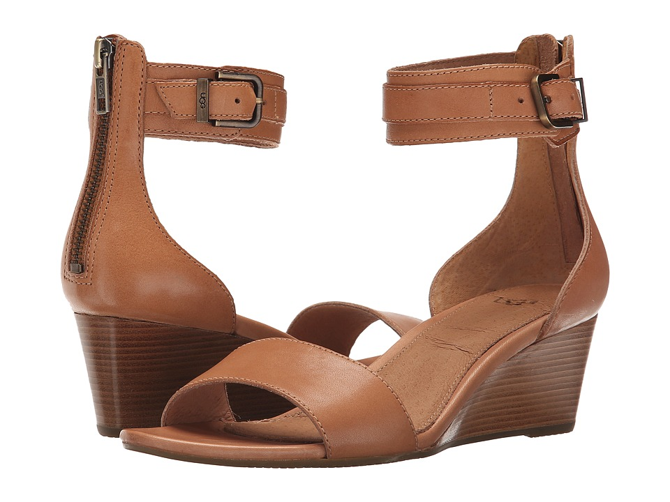 UGG - Char (Suntan Leather) Women's Dress Sandals