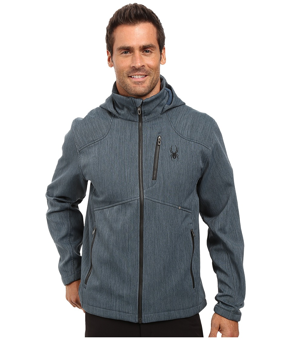 Spyder - Patsch Novelty Soft Shell Jacket (Union Blue/Black) Men's Jacket