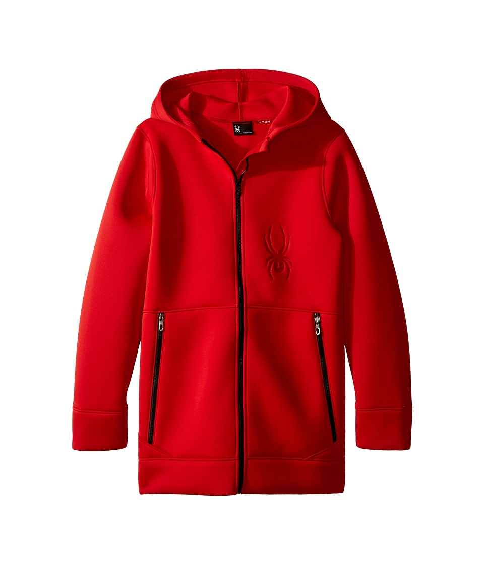Spyder Kids - Orbit Fleece Jacket (Little Kids/Big Kids) (Red/Black) Boy's Coat