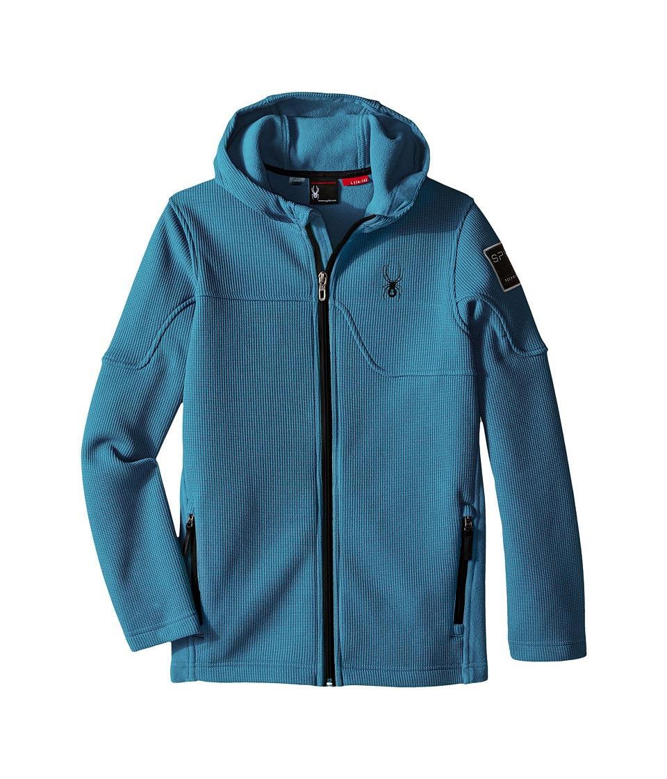 Spyder Kids - Upward Mid WT Stryke Fleece (Little Kids/Big Kids) (Electric Blue/Black) Boy's Coat