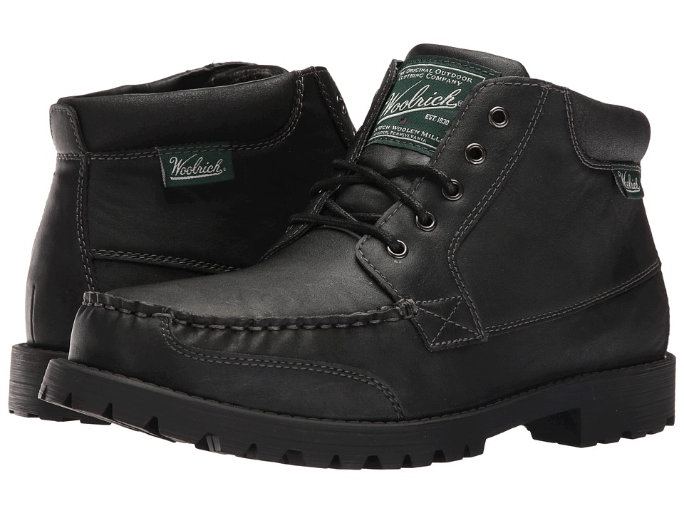 Woolrich - Hickory Run Mid (Black) Men's Shoes