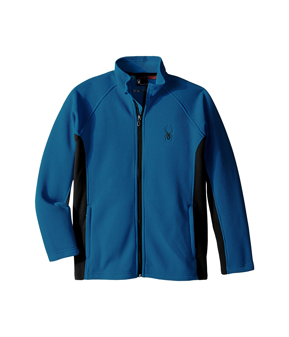 Spyder Kids - Constant Mid WT Stryke Fleece (Little Kids/Big Kids) (Concept Blue/Black) Boy's Coat