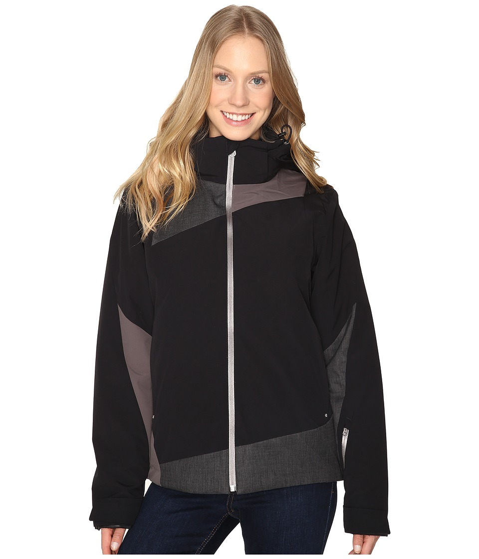 Spyder - Lynk 321 Jacket (Black/Weld Crosshatch/Weld) Women's Coat