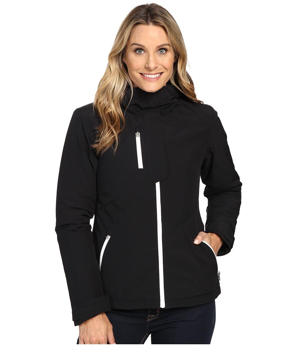 Spyder - Avery Jacket (Black/Black/White) Women's Coat