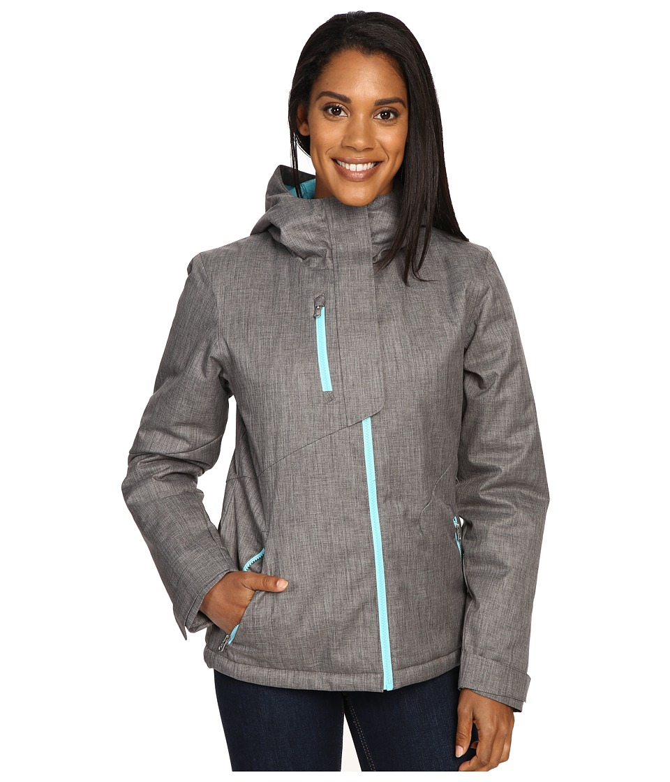 Spyder - Avery Jacket (Weld Crosshatch/Weld Crosshatch/Freeze) Women's Coat