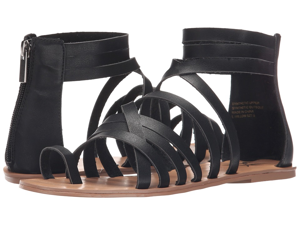 LFL by Lust For Life - Willow (Black) Women's Sandals