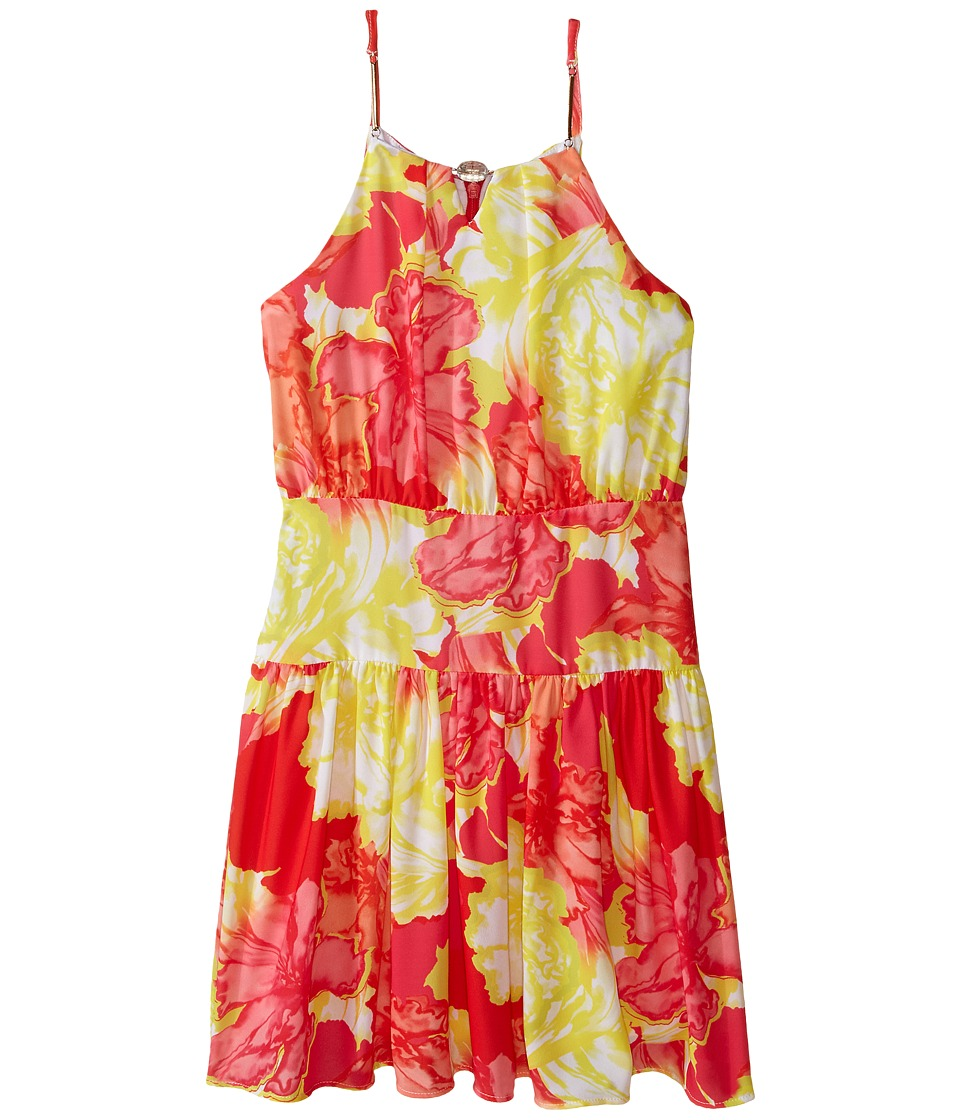 Marciano Kids - Floral Fever Dress (Big Kid) (Multi) Girl's Dress