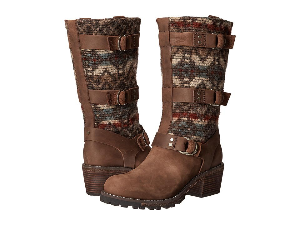 Woolrich - Yukon Junction (Bitter Chocolate/Archival Blanket) Women's Boots