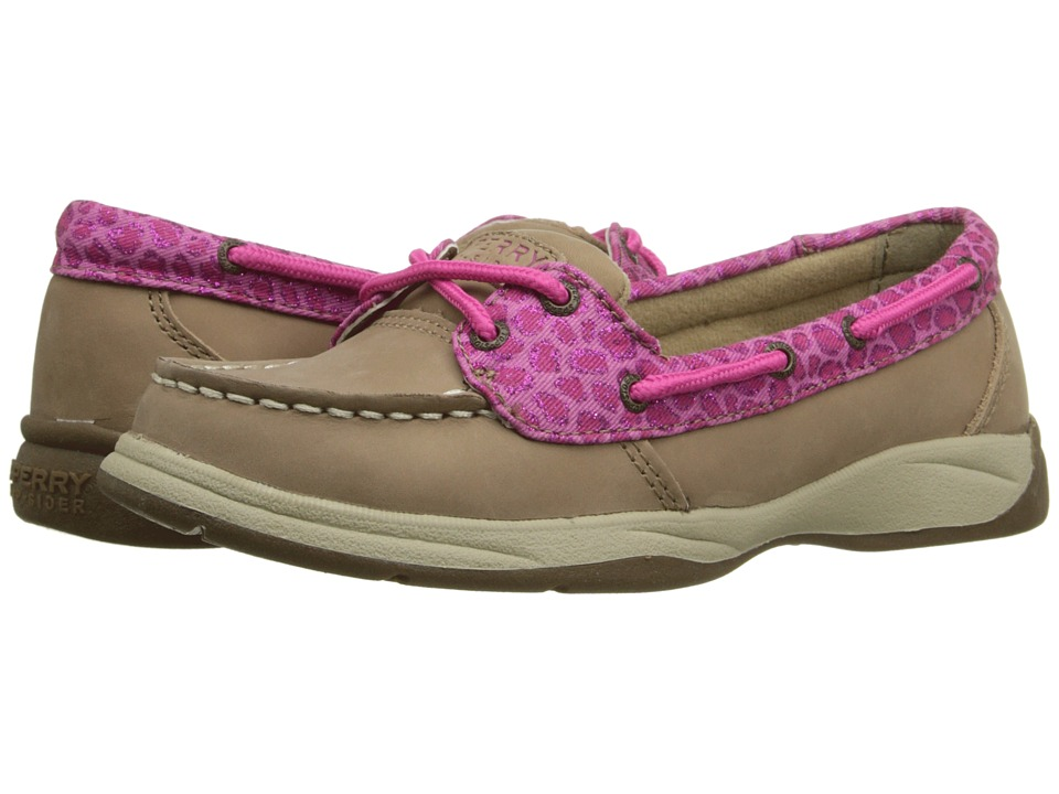 Sperry Top-Sider Kids - Laguna (Little Kid/Big Kid) (Grige Animal) Girl
