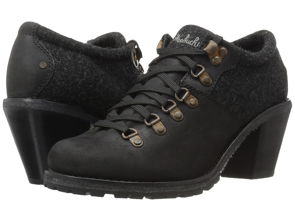 Woolrich - Cascade Range (Black) Women's Lace up casual Shoes