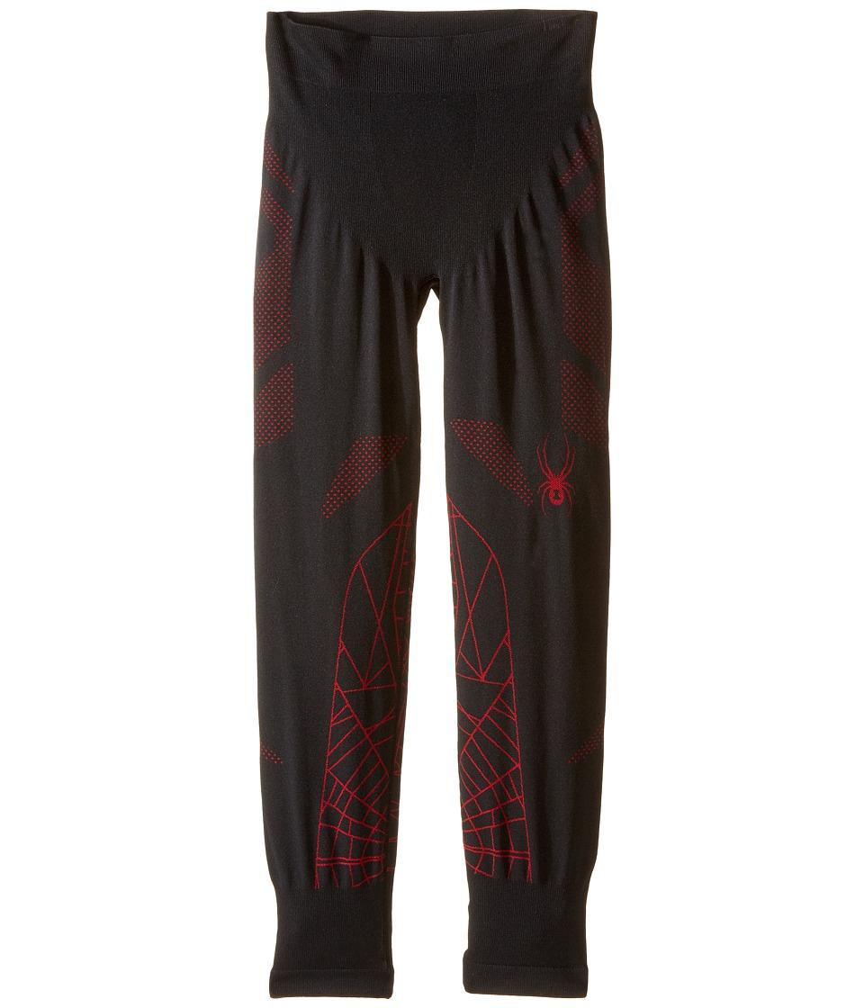 Spyder Kids - Racer Pants (Big Kids) (Black/Red) Boy's Casual Pants