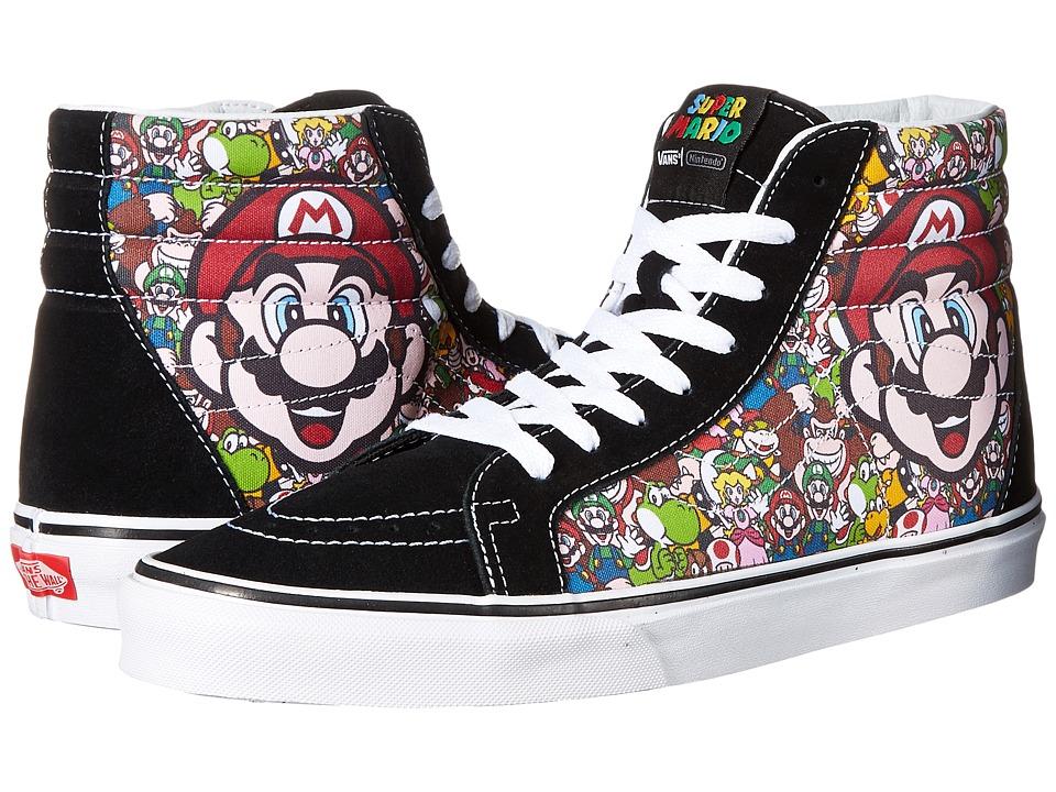 Vans - SK8-Hi Reissue X Nintendo ((Nintendo) Mario & Luigi/True White) Skate Shoes