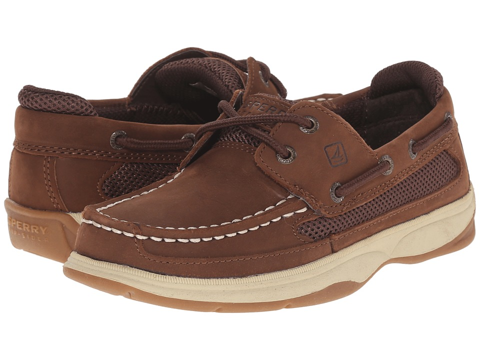 Sperry Kids - Lanyard (Little Kid/Big Kid) (Cigar Brown) Boy's Shoes