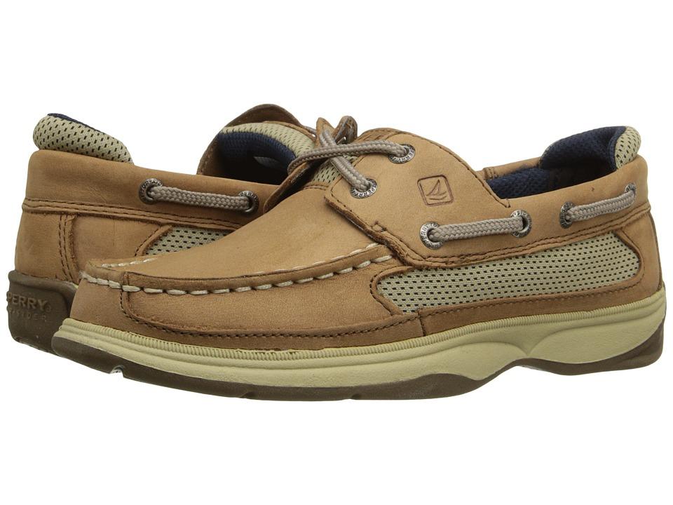 Sperry Top-Sider Kids - Lanyard (Little Kid/Big Kid) (Dark Tan/Navy) Boy's Shoes