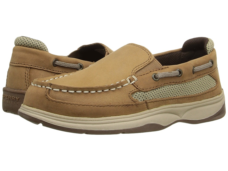 Sperry Kids - SP-Lanyard Slip-On (Little Kid/Big Kid) (Dark Tan) Boy's Shoes