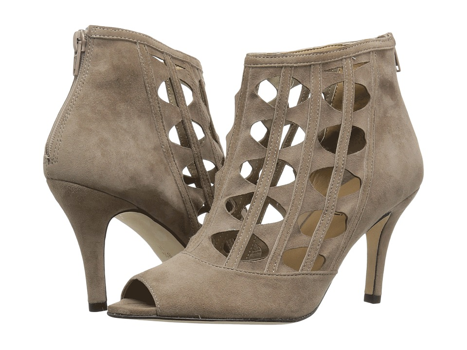 Vaneli - Petal (Truffle Suede) High Heels