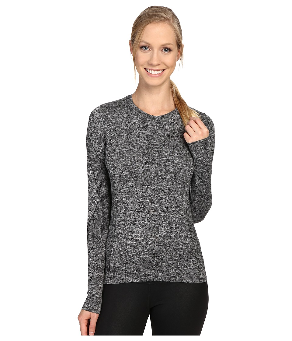 Spyder - Runner L/S Top (Black 1) Women's Long Sleeve Pullover