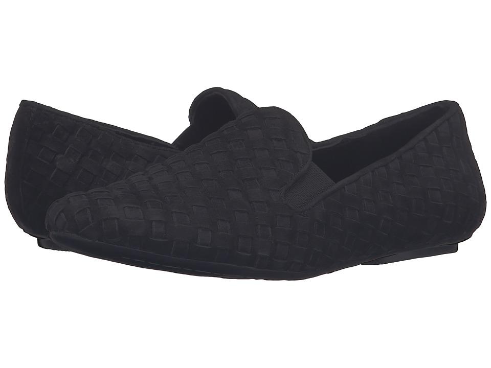 Vaneli - Singer (Black Suede) Women's Slip on Shoes
