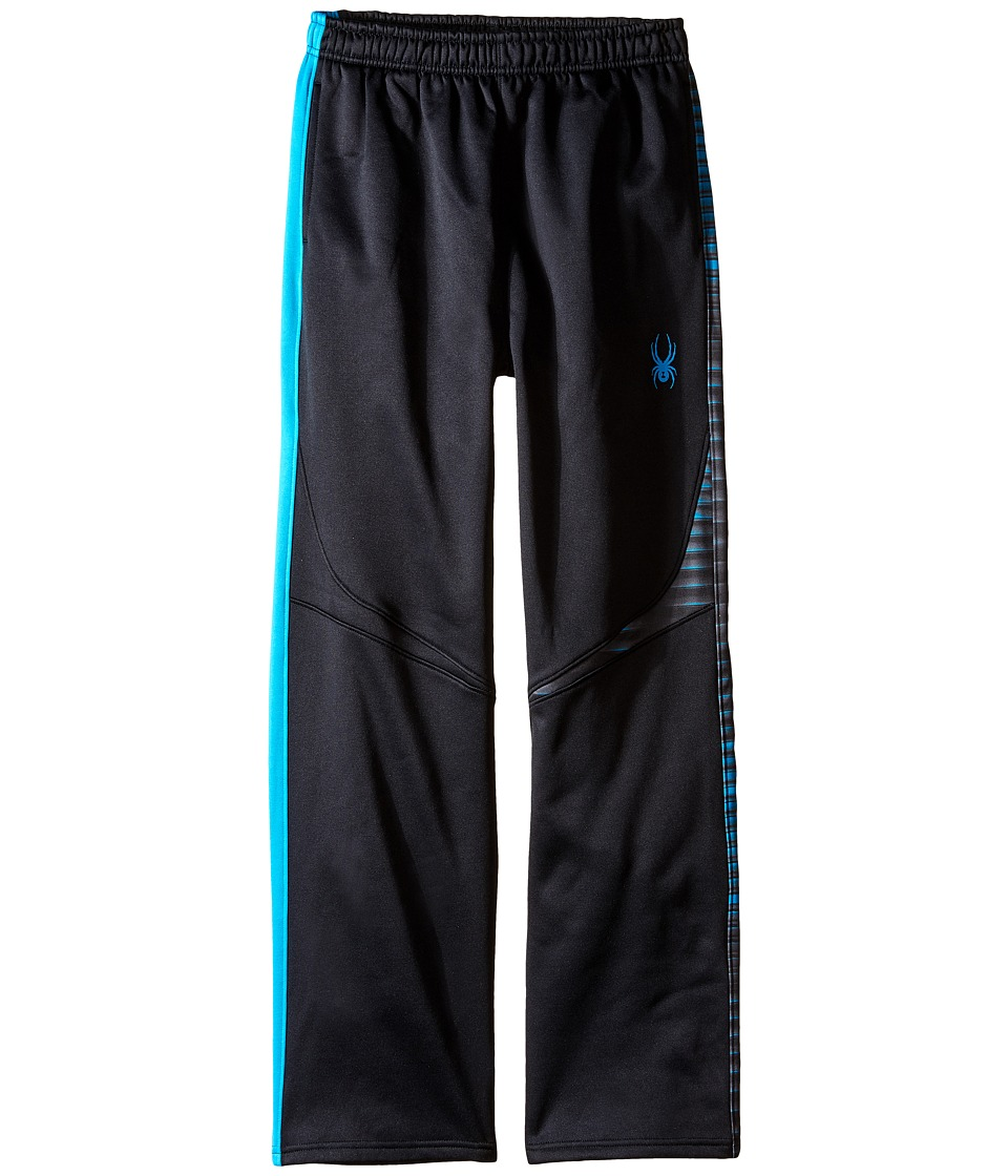 Spyder Kids - Ruckus Fleece Pants (Toddler/Little Kids/Big Kids) (Black/Electric Blue) Boy's Casual Pants