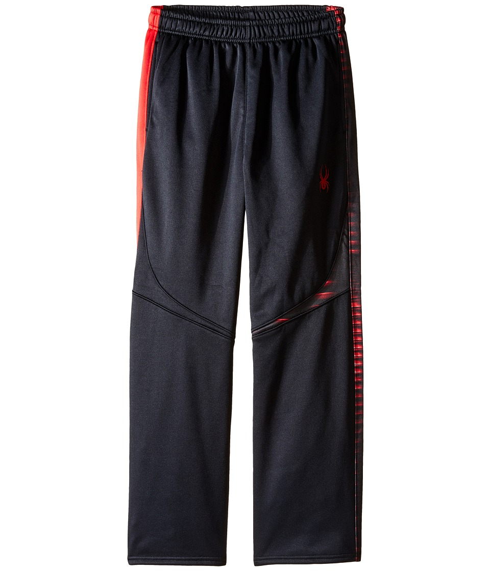 Spyder Kids - Ruckus Fleece Pants (Toddler/Little Kids/Big Kids) (Black/Red) Boy's Casual Pants