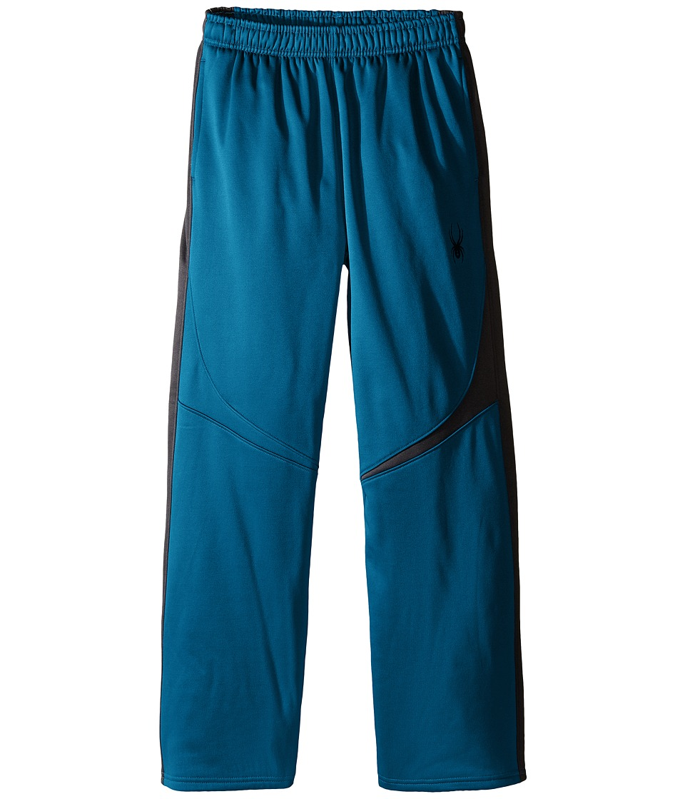 Spyder Kids - Ruckus Fleece Pants (Toddler/Little Kids/Big Kids) (Concept Blue/Black) Boy's Casual Pants