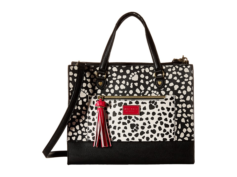 Betsey Johnson - Mod Dot Bag in Bag (Polka Dot) Satchel Handbags
