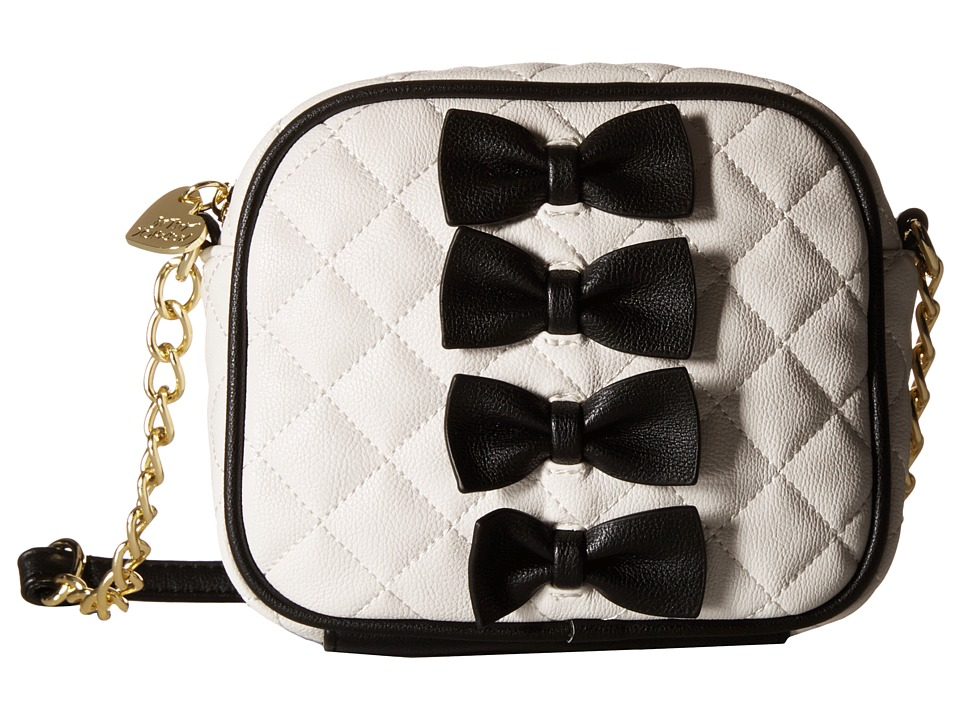 Betsey Johnson - Petite Chic Camera Bag (Black) Bags