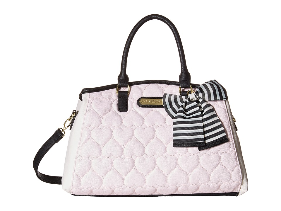 Betsey Johnson - Bowler Satchel (Blush) Satchel Handbags